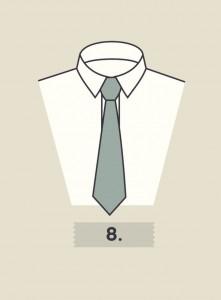 Poradnik nie tylko dla  krawaciarzy. Jak wiązać krawat? Instrukcja krok po kroku
