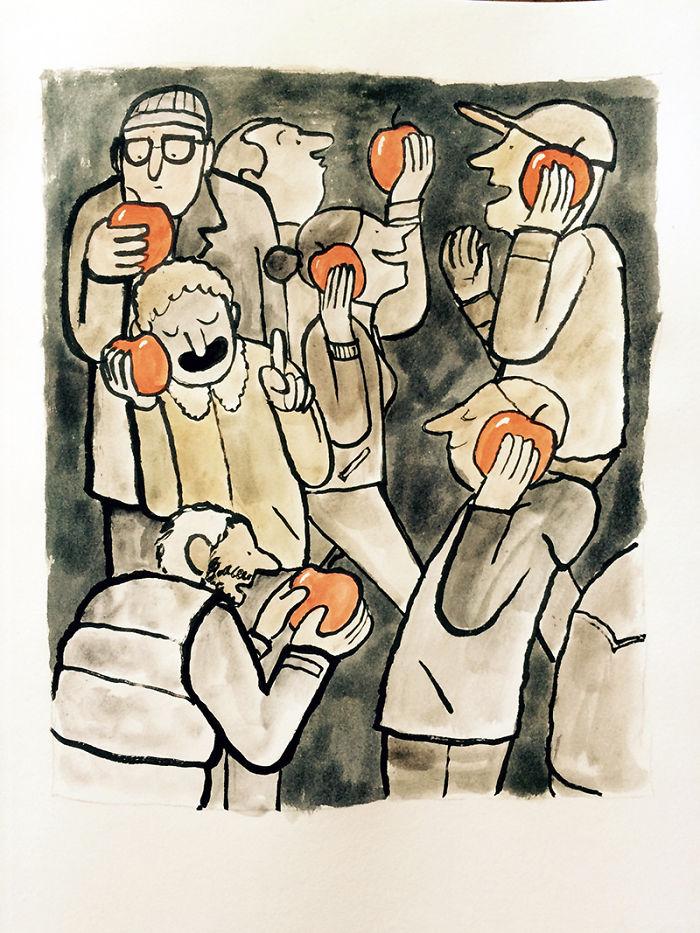 Jean Julien - ilustracje12pg