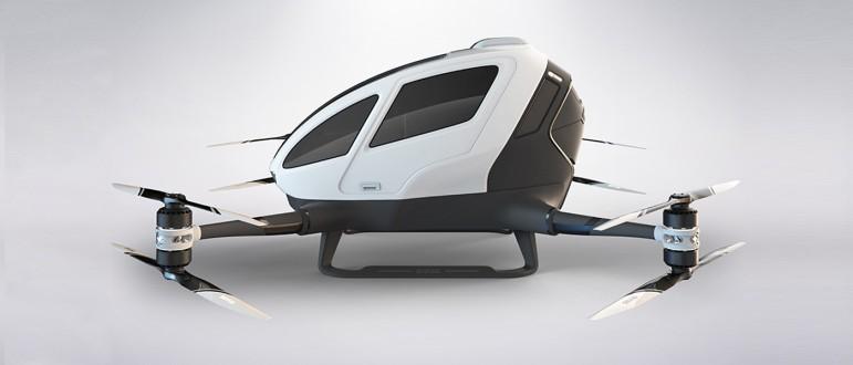 Ehang 184 pierwszy pasazerski dron3