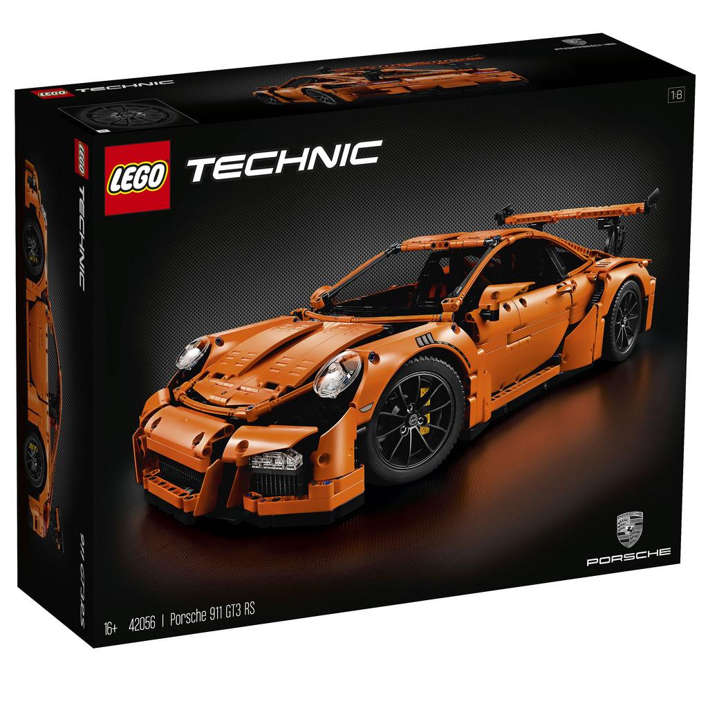 Porsche 911 GT3 RS LEGO Technic - Znany date premiery