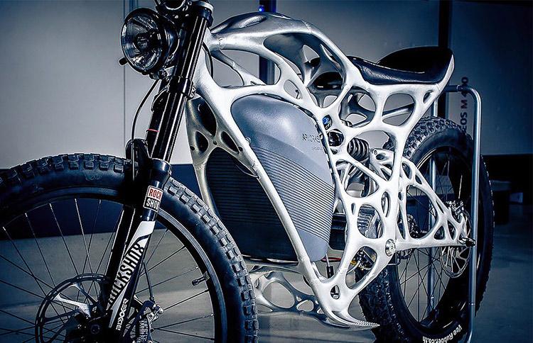 Light Rider - Motocykl wydrukowany w drukarce 3D3