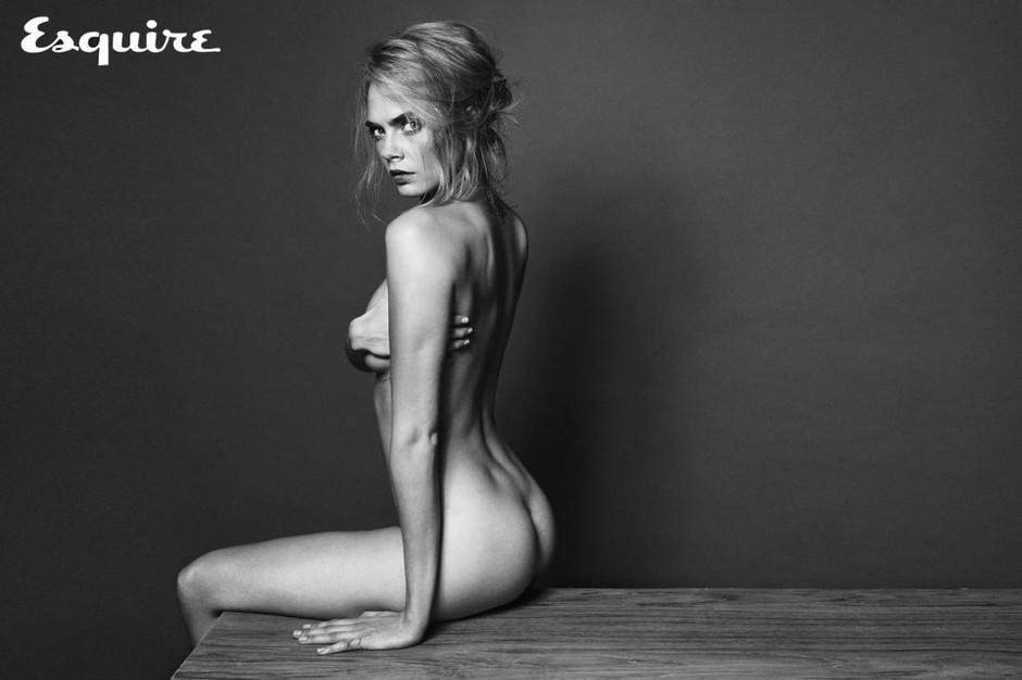 Naga Cara Delavigne w sesji zdjeciowej dla magazynu Esquire3