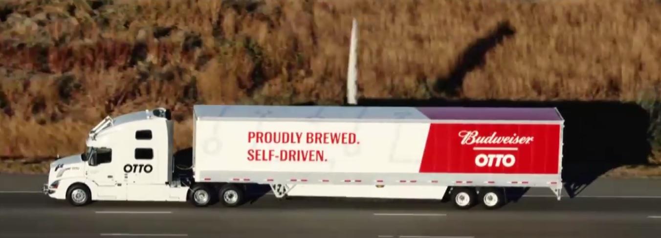 Pierwsza autonomiczna dostawa piwa