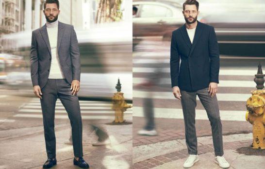 Mężczyzna niczym z wybiegu. Moda męska 2016/2017