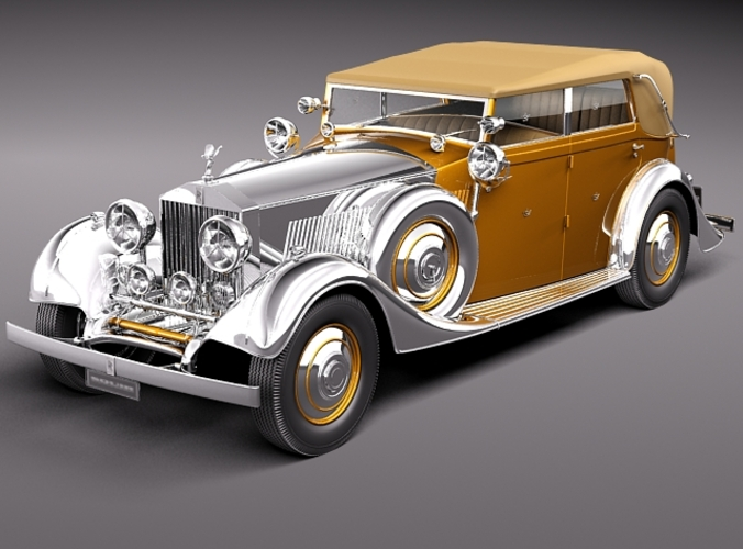 Rolls-Royce Phantom II Star of India 2