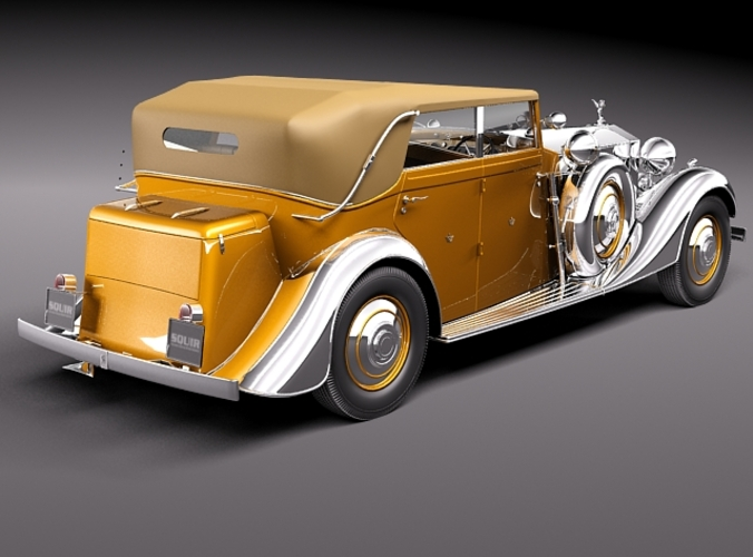 Rolls-Royce Phantom II Star of India 4